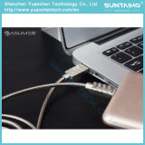 Cabo cobrando rápido do USB da mola 2017 micro para o telefone do Android de Samsung Xiaomi/Huawei