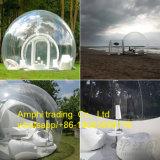 يخيّم فقاعات خيمة فسحة عملاق قابل للنفخ قبّة فقاعات كرة
