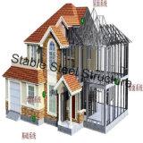 Helles Stahlkonstruktion-Landhaus in Afrika