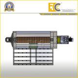Prensa de batir de agua del calentador de la caja de la placa externa solar del tanque