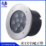 316 luces enterradas LED azules claras subterráneos ligeras de adaptación del color del acero inoxidable LED