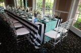 도매 아래로 Chiavari Wedding 아크릴 명확한 의자를 두드리십시오