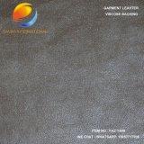 Cuoio sintetico per l'indumento con la protezione della pelle scamosciata