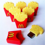 Nouveauté Mcdonald Cartoon Thumb USB French Fries Mémoire flash