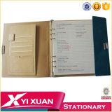 Подгонянная кожаный тетрадь дневника устроителя крышки A4 A5 A6 личная