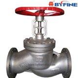 Válvula de globo material inoxidável do corpo de aço de Wcb GS-C25