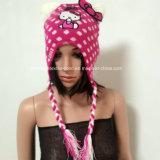 Мода шапочка для детей с ушками / Bowknot / вышивка / печать / струнных