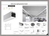 P/N42-018-R3 LED에 의하여 중단되는 선형 알루미늄 단면도 유포자 밀어남 채널
