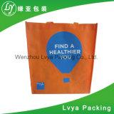 Preiswertes aufbereitetes kundenspezifisches Drucken-Lebensmittelgeschäfttote-Einkaufen pp. keine gesponnenen Bag&Advertizing Geschenk-Einkaufen-Beutel