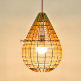 Creative bois Goutte Pendant Light DIY