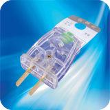 Китайские штыри штепсельной вилки 2 шнура питания с 6A 10A