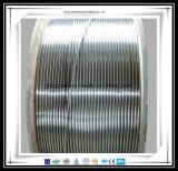 El acero inoxidable de la precisión 316L soldó la bobina del tubo