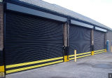 Aluminiumprofil-Tür-Rolle Shutters Fabrik für Schleichen-Platz (Hz-FC0563)