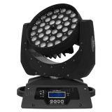 4in1 LEIDENE 36PCS*10W RGBW Verlichting DMX die het HoofdLicht van de Was van het Gezoem bewegen
