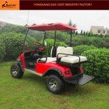 4 Seater電気ハンチングゴルフカート(後部フリップシート)