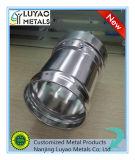 Piezas de giro del aluminio, pieza de metal de aluminio,
