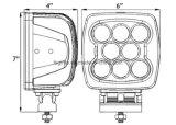 lumière de travail du CREE DEL de 80W 5.5inch pour le matériel lourd (GT1025-80W)