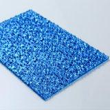 실내 벽을%s 폴리탄산염 UV 입히는 돋을새김된 단단한 장