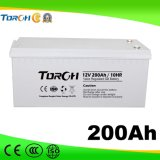 12V 200ah VRLA Tief-Schleife Solargel-Batterie für Kraftwerk