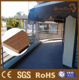 Decking extérieur de plancher composé en plastique en bois extérieur