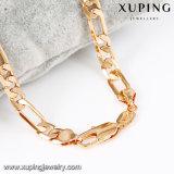 43194 Moda jóia de ouro jóia de cobre cadeia de colar de homens em 60 Cm