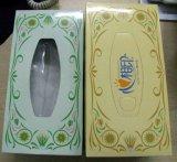 Caisse d'emballage colorée de tissu de papier fabriqué à la main d'OEM