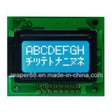De zwart-wit Geelgroene 8X2 MAÏSKOLF LCD van het Karakter