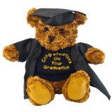 Urso quente da peluche da qualidade da venda do brinquedo encantador lindo do luxuoso da graduação