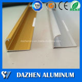 Le bord de coin de profil de garniture de carreau de céramique mure le profil d'aluminium de garniture de tuile