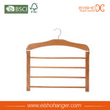Beech Wood Four Layers Pantalon en bois Suspension pour affichage