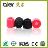 Verschiedener Farben-Kopfhörer-Gebrauch-Speicher-Schaumgummi-Ohrenpfropfen