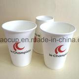 Taza de papel del café caliente. Tazas de papel de Kraft Brown 4/6/8/10/12/16/20 onza