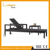 Lazer Outdoor Garden Furniture Rattan / Wicker Armrest Lounge Deck Chair