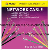 Netz CAT6 Cat5e LAN-Kabel (Plattfisch-Durchlauf)