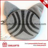 Mini borsa personalizzata della moneta farcita della catena chiave del giocattolo del sacchetto del gatto peluche animale