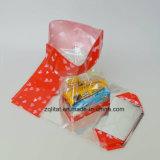 CustomziedはBOPPの堅い底が付いている透過正方形の堅い底を付けられた側面のガセットのセロハンキャンデー袋のギフト袋を印刷した