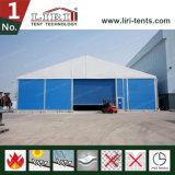 강철 프레임 방수 PVC 지붕과 샌드위치 강철 위원회 벽 창고 천막