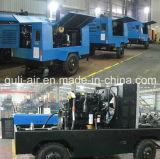 Compresor de aire diesel industrial del tornillo