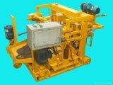 Maquinaria de bloco de camada de ovo móvel Qt40-3A máquina de fabricação de tijolos oco