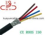 câbles de l'alarme 4c/câble d'acoustique de connecteur de câble de transmission de câble de caractéristiques câble d'ordinateur