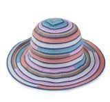 女性の純粋な綿の多彩なバケツの帽子