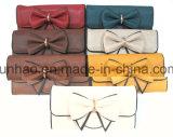 여자를 위한 형식 디자인 지갑 또는 Bowknot/PU 지갑