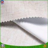 Tissu de rideau en polyester tissé par arrêt total imperméable à l'eau enduit à la maison de franc de textile