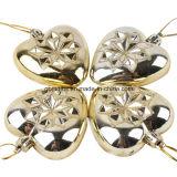 Decorações de Natal 7cm em forma de bola de doces Árvore de Natal Garland Light Plating Decorative Pendant