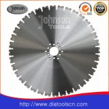 600mm diamante vio la lámina para Saw pared