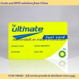 Cartão do pedágio feito do PVC com a listra magnética de Hico (ISO 7811)