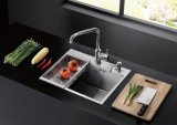 gootsteen Ub53091 van de Keuken van 3mm de Met de hand gemaakte