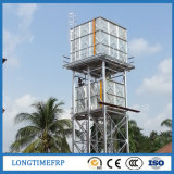 4FT galvanisiertes Stahlwasser-Becken-Panel