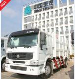 Carro de basura de la marca de fábrica de HOWO con el rectángulo 16m3