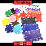 11.5g - Chip-nach Maß verschiedene Farben-Kasino-Chips des Lehm-32g/des Schürhakens mit Aufkleber oder kann Firmenzeichen Ym- Cp024 drucken